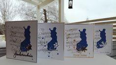 Suomi100, itsenäisyyspäivä, Suomi joulukortti, askartelu, DIY