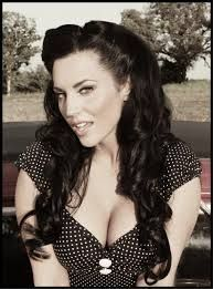 Pin up Long hair style-- axsoris.com... I really like this one!