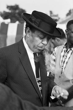 Lester Young at the Newport Jazz Festival, 1958