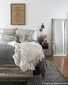 Incredible Modern Farmhouse Bedroom Decor Ideas 012