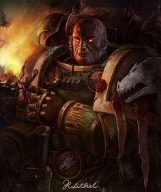 Eldar Farseer, Warhammer 40k Space Wolves, Wolf Poster, Space Marine, Burns, Character Design, Animation, Fire, Gallery