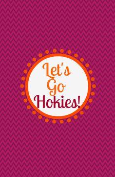 Hokies! My new phone background