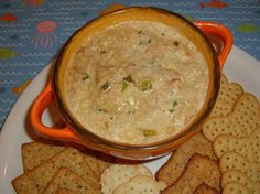 Paula Deen's recipe for Hot Crab Dip