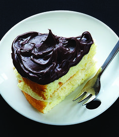 Boston Cream Pie - Clean Eating  Weight Watchers Points Plus value per serving (1/10 of pie) 5 pts