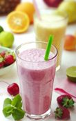 Virgin coconut oil smoothie shake recipes for weight-loss.