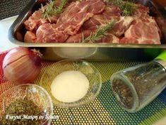 Greek Recipes, Pork Recipes, Beef, Cooking, Food, Tips, Meat, Kitchen, Essen