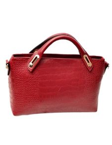 PU Leather Alligator Print Tote Bag for Women