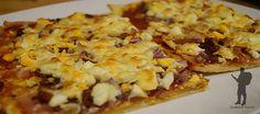 Magyaros pizza - Hungarian dish