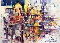 Aquarell Painting, Design, Art, Watercolor, Painting Art, Art Background, Kunst, Paintings