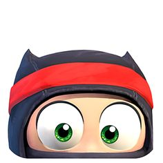 Clumsy Ninja - you gotta love this adorable Ninja that you train from clumsy to amazing!  http://www.naturalmotion.com/clumsy-ninja/3909/ #iloveswiftshopperapp