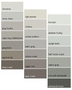 Use A Cooler Gray Like Smoke Embers Dark Room Lighter Tint Of Perhaps Horizon Have Lot Orange In The Ameliaandgrace Color