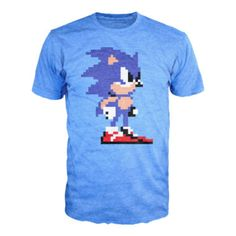 """Pixelated Sonic"" tee"
