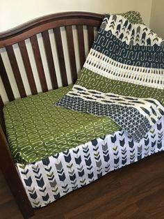 Fishing Nursery Crib Bedding Baby Nautical
