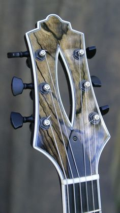 Rusch Guitars Artista headstock
