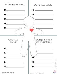 Free Self-Esteem Resources For Kids - Kiddie Matters