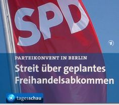 SPD mit den Konzernen – TTIP soll weiter verhandelt werden › Lasno.de
