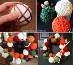 Top 35 Astonishing DIY Christmas Wreaths Ideas