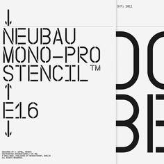 NB Grotesk Pro Mono Edition by @neubauberlin   Includes: NB Grotesk Pro Mono…