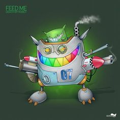 """Another infamous album was released yesterday. Feed Me's """"Death By Robot"""" is a EP blended with electro-house and dubstep bangers. Anyone who knows this guy knows that he tends to g… Dj Logo, Electro Music, Workout Music, Joy Of Life, Music Pictures, Daft Punk, Music Library, Dubstep, Creative Logo"""