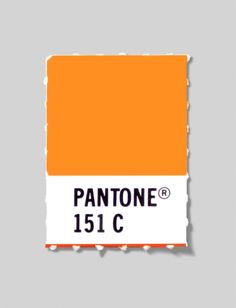Our logo color, Pantone 151  Pantone, Inc. is the authority on color, provider of color systems and leading technology for accurate communication of color. Tangerine Tango 2012 Pantone color of the year.