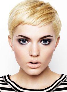 Frisyrbilder- Kvinnor kort hår Hairworld.se Sveriges hårport