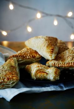 Muna-riisipasteijat | K-ruoka #joulu Savoury Baking, Healthy Baking, Bagel, Bread, Kitchen, Christmas, Food, Xmas, Cooking