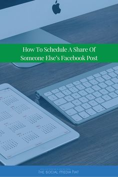 It's great to share content from other businesses and Facebook Pages, but how do you schedule and space those shares out? -> https://www.thesocialmediahat.com/article/how-schedule-share-someone-else-s-facebook-post via @mikeallton