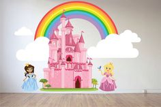Hey, I found this really awesome Etsy listing at https://www.etsy.com/listing/270985389/princess-wall-decal-girls-room-wall