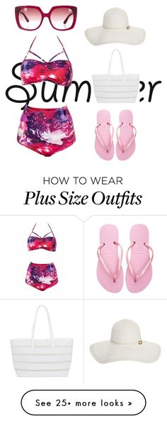 """""""Untitled #31"""" by cartman-hannah on Polyvore featuring Havaianas, BUCO, Melissa Odabash, Etro and girlsnightout"""
