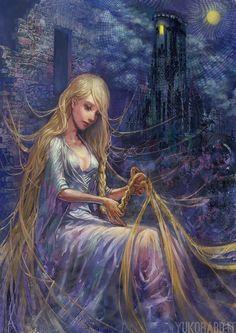 Rapunzel by DarkSunRose on DeviantArt