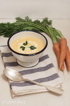 Crema de zanahorias #receta