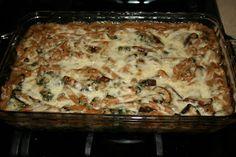 Notes From The Table : Portobello Penne Pasta Casserole
