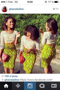 Ankara skirt #africanprint