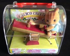 2002 Calico Critters Baby Carry Case Teeter Totter CC1962, NEW #CalicoCritters