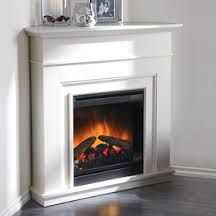 Corner Electric Fireplace Electric Fireplaces And