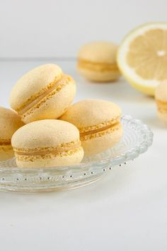 Pavlova, Lemon Macarons, Bread Cake, Four, Dessert Bars, High Tea, Cake Cookies, Food Inspiration, Cookie Recipes