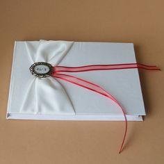 Svatební kniha hostů s monogramem Monogram, Monograms