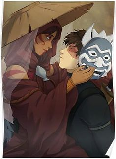 My favorite Anime Couple is Katara and Zuko! From the ATLA! (Fact: There not a couple, but I would love to create a story if they did had a relationship like Katara and Aang) Avatar Zuko, Avatar Airbender, Suki Avatar, Zuko And Katara, Team Avatar, Aang The Last Airbender, Avatar Fan Art, Ang And Katara, Anime Disney