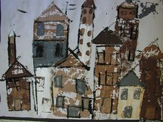 Printed City by Paintbrush Rocket, via Flickr (4th-5th)