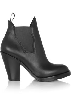 Acne Star leather ankle boots - http://lustfab.com/shop-lust/acne-star-leather-ankle-boots/