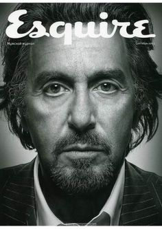 Al Pacino for Esquire Magazine, Russia, September 2005