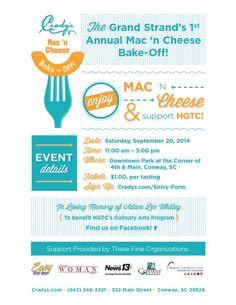 Crady's Mac 'N Cheese #poster #design