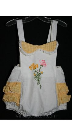 9ff570c494a 1950s baby - I had some little outfits like this.  -) Food Places