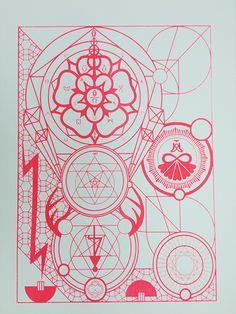 Michael Robinson, visionary artist / Sacred Geometry <3