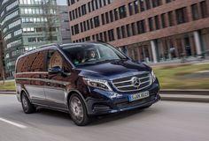 Meer foto's van de nieuwe Mercedes V-klasse