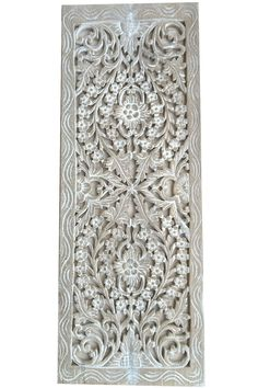 Carved Wall Art elegant medallion wood carved wall plaque. round wood carved