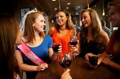 Some cute ideas for your classy bachelorette party