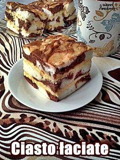 Ciasto Łaciate z masą serową