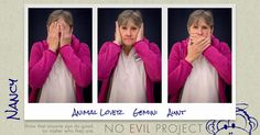 Nancy: #AnimalLover #Gemini #Aunt - I like helping people. I volunteer. I love animals
