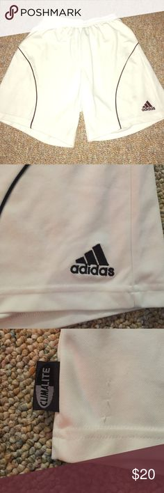 adidas soccer shorts ⚽️ adidas soccer shorts in great condition and very comfy  adidas Shorts